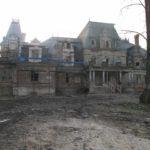 01.Pałac - widok elewacji frontowej