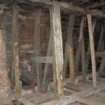12.kostrukcja więźby dachowej nad salą balową do remontu i odgrzybienia