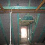 18.Skrzydło wschodnie - wymiana więźby II p i konstrukcja stalowa stropu nad II p
