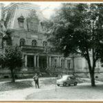 Pałac od str. podjazdu, 1961 r.