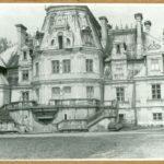 Pałac od str. ogrodu, 1961 r.