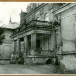 Główne wejście do pałacu, 1961 r.
