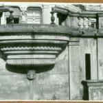 Fragment tarasu pałacowego, 1961 r.