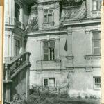 Fragment elewacji ogrodowej, 1961 r.