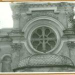 Fragment elewacji kościoła św. Feliksa de Valois, 1961 r.