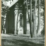 Kościół św. Feliksa de Valois od str. południowej, 1961 r.