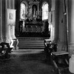 Wnętrze kościoła św. Feliksa de Valois, lata 30. XX w.
