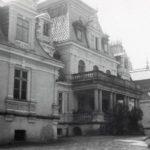 Pałac w Guzowie od podjazdu, lata 30. XX w.