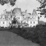 Pałac w Guzowie od ogrodu, lata 30. XX w.