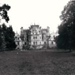 Pałac od str. ogrodu, fot. K. Kowalska, 1977 r. Arch. Mazowieckiego Wojewódzkiego Konserwatora Zabytków