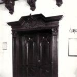 Jadalnia pałacowa; fot. K. Kowalska, 1977 r. Arch. Mazowieckiego Wojewódzkiego Konserwatora Zabytków