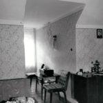 Pokój na II kondygnacji poddasza; fot. K. Kowalska, 1977 r. Arch. Mazowieckiego Wojewódzkiego Konserwatora Zabytków