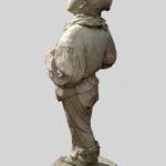 "Francesco Jerace, ""Guapetiello"", zbiory muzeum Castel Nuovo w Neapolu. Fot. Elżbieta Caillot Sobańska"