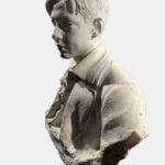 """Francesco Jerace, """"Antoni Sobański"""", zbiory muzeum Castel Nuovo w Neapolu. Fot. Elżbieta Caillot Sobańska"""