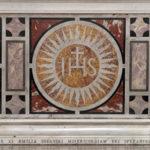 Fragment mensy ołtarza głównego w kościele św. Augustyna w Warszawie; fot. P. Jamski