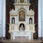 Ołtarz główny w kościele św. Augustyna w Warszawie; fot. P. Jamski