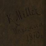 Feliks hr. Sobański, mal. Karol Miller, 1870; fot. Piotr Jamski, 2017