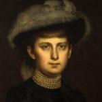 Emilia z hr. Łubieńskich Felixowa hr. Sobańska, mal. Karol Miller, ok. 1870 r.; fot. Piotr Jamski, 2017