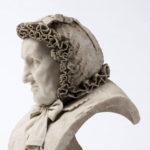 """Sławomir Celiński, """"Popiersie Róży Sobańskiej"""", marmur biały, 1881 r.; fot. Piotr Jamski, 2017"""