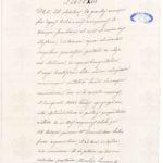 Pierwsza strona breve Leona XIII przyznającego tytuł hrabiowski Feliksowi Sobańskiemu, 1880 r. Archivum Secretum Vaticanum