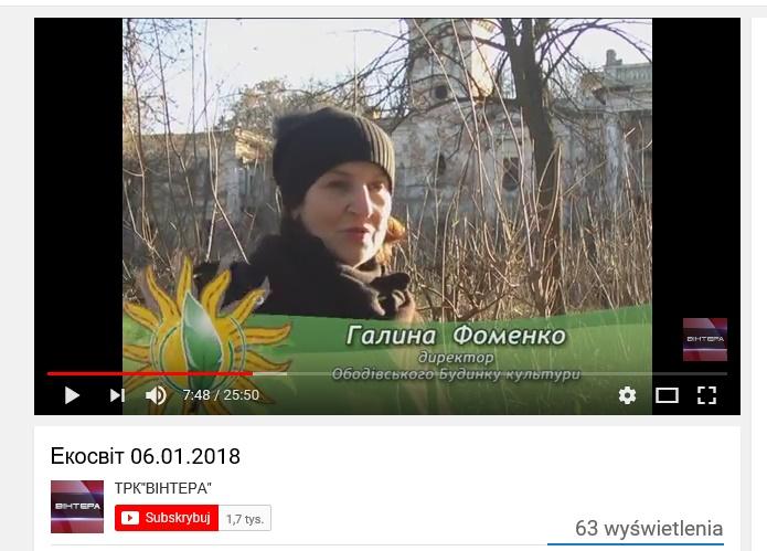 Ekoswit.rewitalizacja parku w Obodowce 01.2018