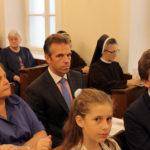 Od lewej: Renata Sobańska, Michał Sobański, Zofia Sobańska, Felix Sobański, 15.09.2018
