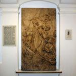 """Płaskorzeźba Marii Gerson (córki Wojciecha Gersona) """"Chrystus ucisza burzę na jeziorze"""" z 1897 r."""