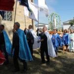 Uroczysta procesja wokół kaplicy