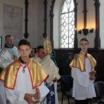Wprowadzenie Najświętszego Sakramentu do kaplicy