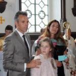 Michał i Elżbieta Sobańscy z córką Zofią