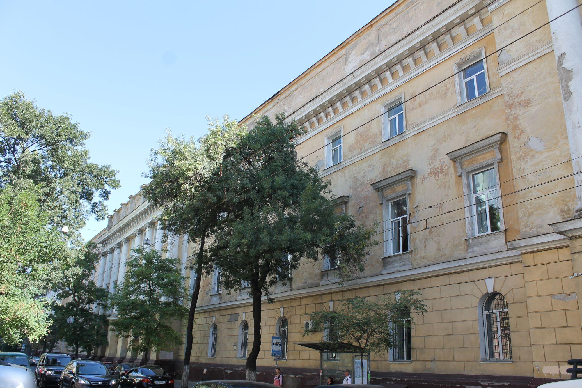 Ulica Sobanskiego w Odessie 2