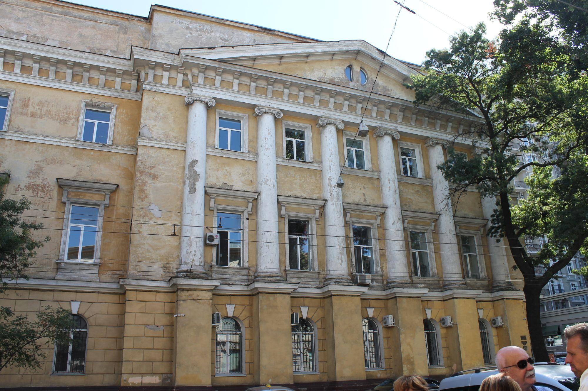Ulica Sobanskiego w Odessie 3