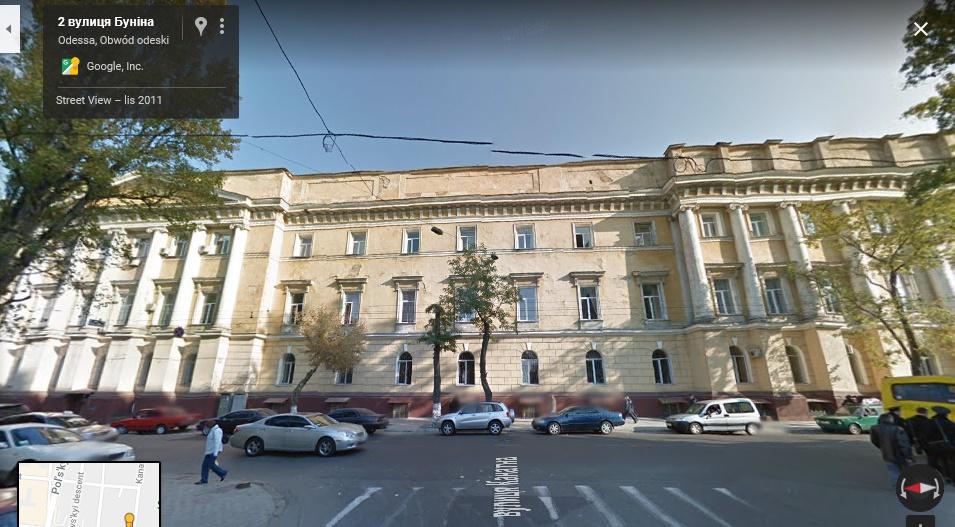 Ulica Sobanskiego w Odessie 6 Google_Maps