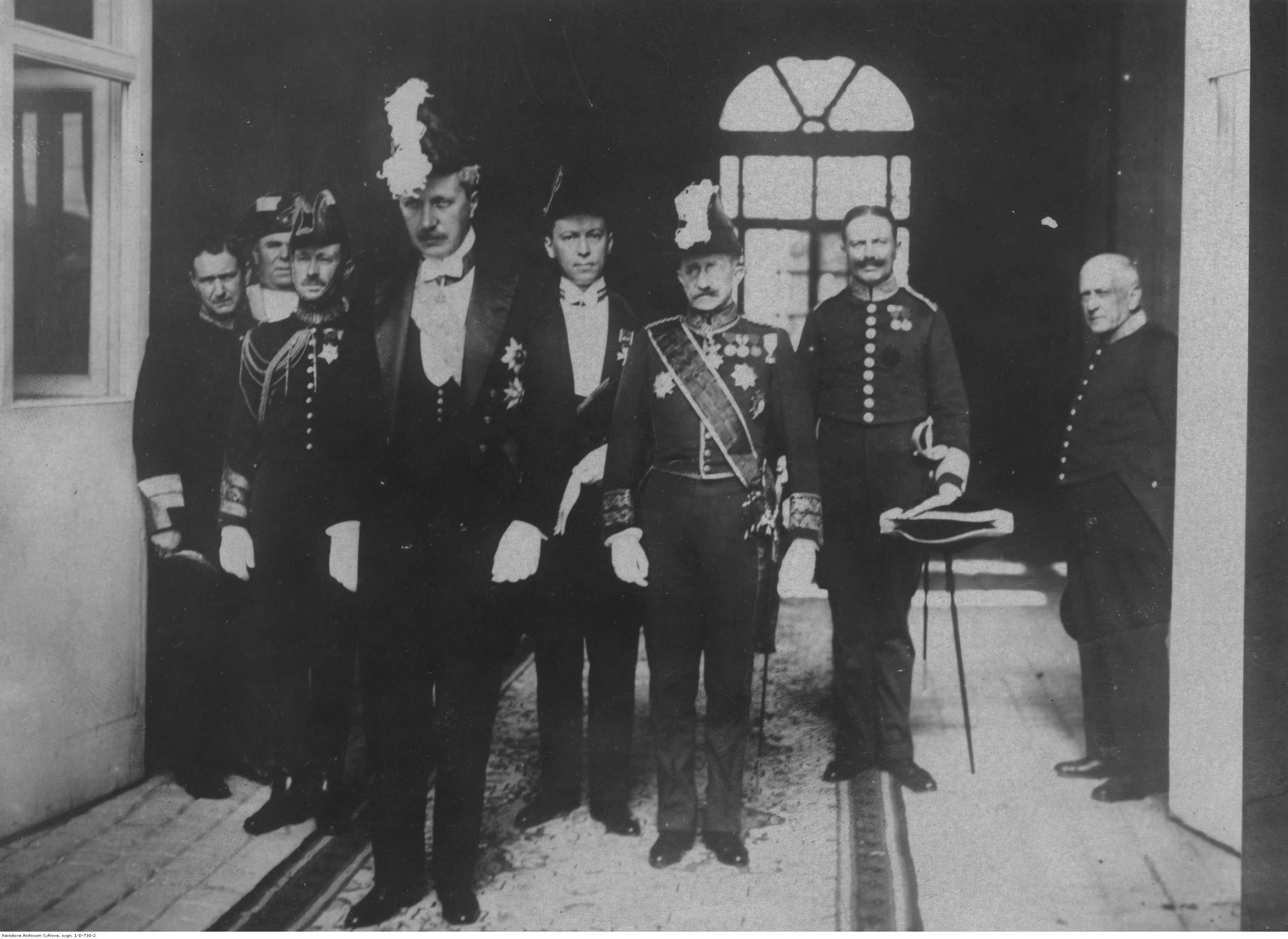 NAC_002_Wladyslaw Sobanski sklada listy uwierzytelniajace_Madryt 1924